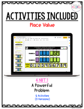 Load image into Gallery viewer, 4th Grade Digital Place Value Activities