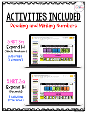 Load image into Gallery viewer, Digital Place Value Activities {5th Grade}