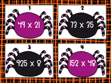 Spider Multiplication Task Cards Freebie {Digital and Printable}