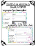 Digital Memory Book {Upper Elementary} - Distance Learning