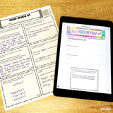 5th Grade ELA Test Prep Pack {Digital AND Printable}