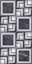 Load image into Gallery viewer, ECE NAVY BLUE DECOR 12x24 Polished Porcelain