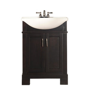 Tacoma 24 in. Bathroom Vanity in Espresso