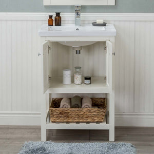 Richland 24 in. Bathroom Vanity in White
