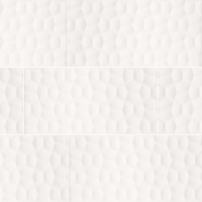 ADELLA VISO WHITE 12X24 SATIN MATTE 0.39 INCH Backsplash Wall Tile Decorative Tile