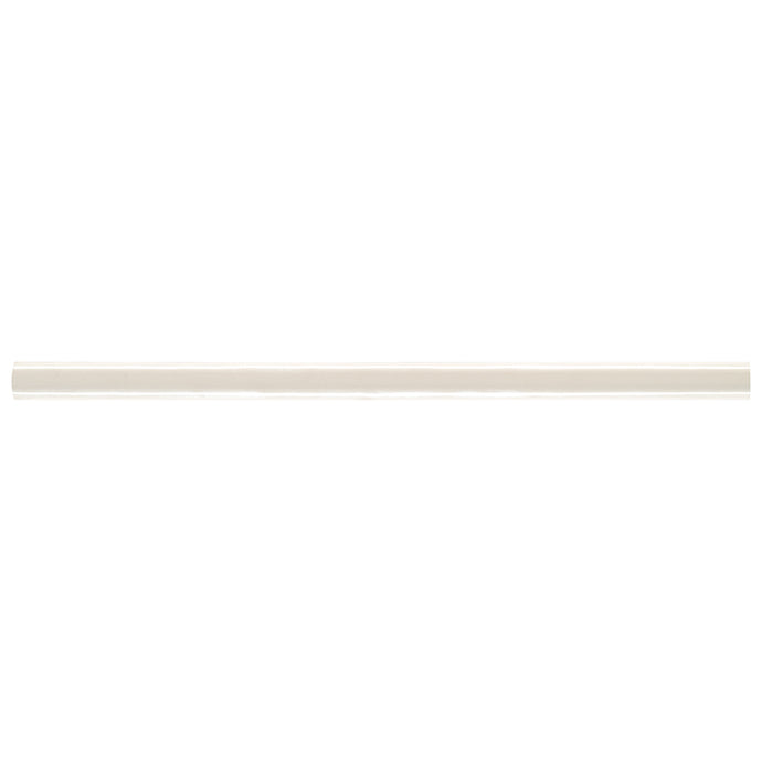 ALMOND GLOSSY PENCIL 1/2X12 MOLDING