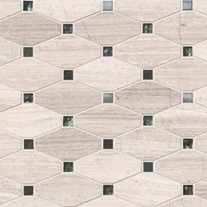 BAYVIEW ELONGATED OCTAGON MISC. 0.38 INCH Backsplash Decorative Wall Tile
