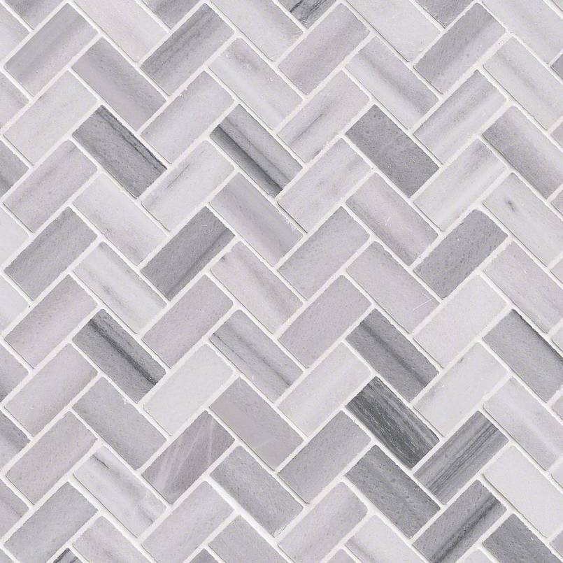 BERGAMO HERRINGBONE POLISHED 0.38 INCH Backsplash Decorative Wall Tile