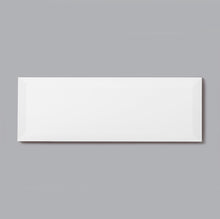 Load image into Gallery viewer, 4 x 12 Ivory Flat Polished or High Gloss Wall Tile