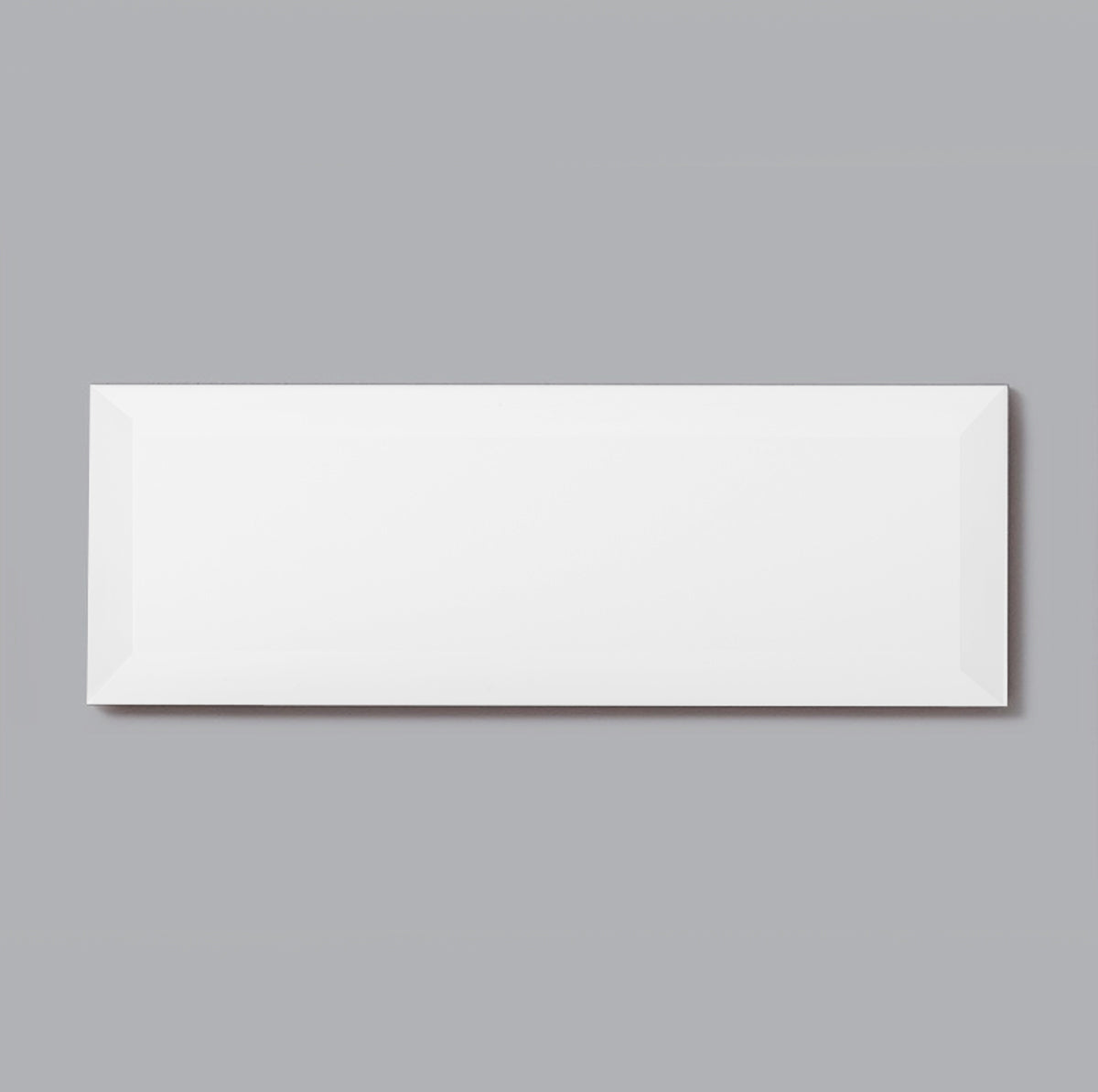 3 x 6 White Flat Polished or High Gloss Wall Tile
