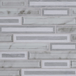 BLOCKI GRIGIO INTERLOCKING MISC. 0.32 INCH Backsplash Decorative Wall Tile