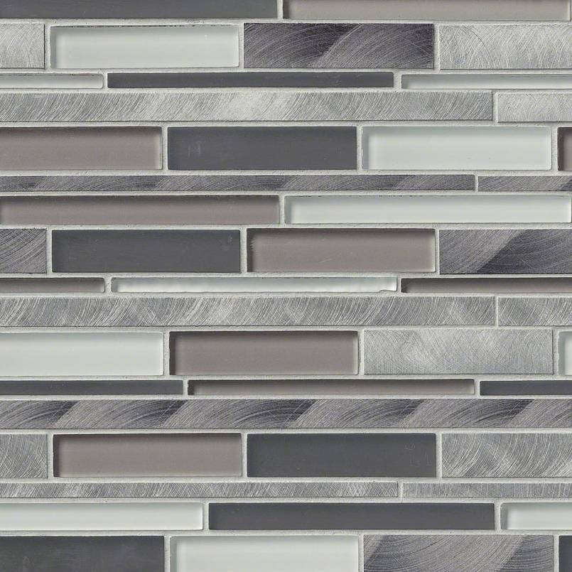 CITYSCAPE INTERLOCKING MISC. 0.31 INCH Backsplash Decorative Wall Tile