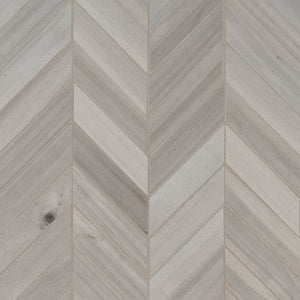HAVENWOOD PLATINUM CHEVRON 12X15 MOSAIC