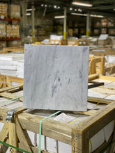 Load image into Gallery viewer, 18 x 18 Square Matte Bianco Carrara Marble - Tile Stone Depot