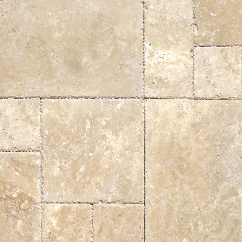 TUSCANY BEIGE VERSAILLES TUMBLED PATTERN