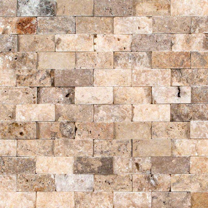 TUSCANY SCABAS 1X2 SPLITFACE MOSAIC