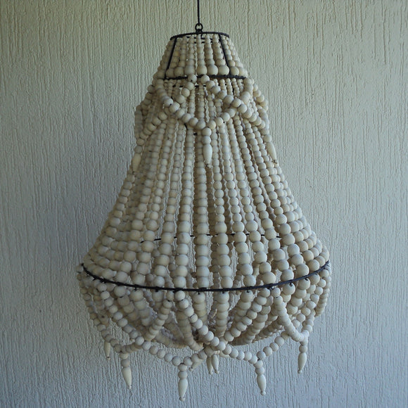 Beautiful Beaded Chandelier