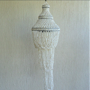 Chandelier made from Shells