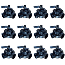 "Load image into Gallery viewer, FibroPool 2"" POSI-Close 3 Way Non-Lube Valve 12 Pack"