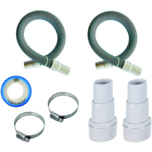 "Professional 1 1/2"" Swimming Pool Filter Hose Replacement Kit"