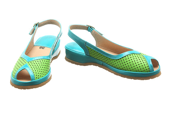 826 Green Turquoise Low