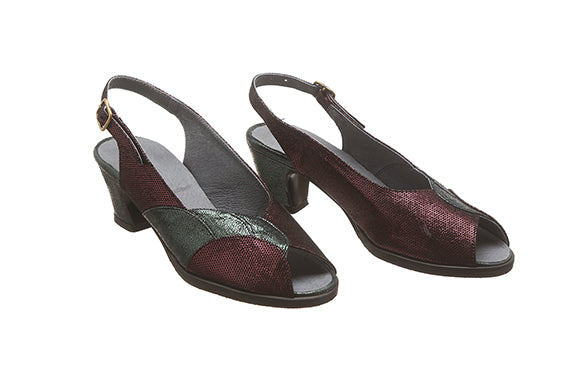 100 Bordeaux High Heel