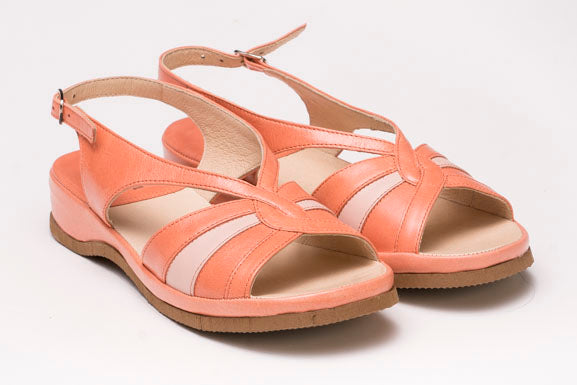 57 Coral Sandals Low