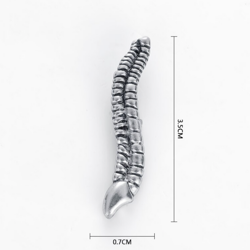 Delicate Charms Thoracic lumbar cervical Vertebrae Lapel Pin Chiropractor and Anatomy Pins- Spine, Neuromuscular and Alternative Medicine Lapels