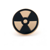 Delicate Charms Biohazard Radiation Symbol Radiation radioactive pin Radioactive Biohazard Nuclear Radiation Symbol Radiologist Radiology X Ray Medical Gift