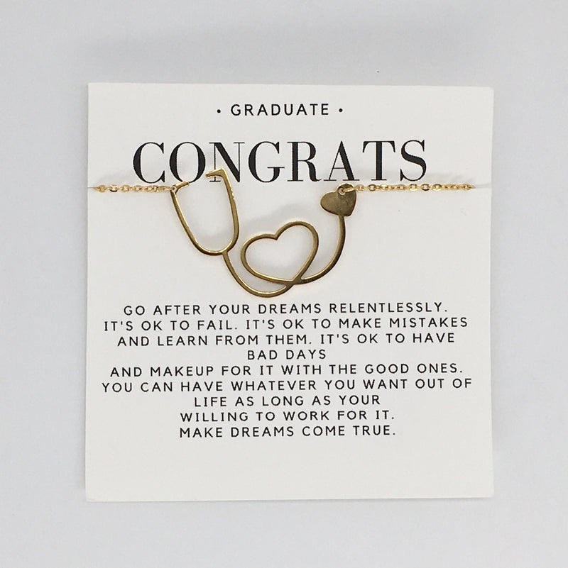 Delicate Charms graduation gift for grads