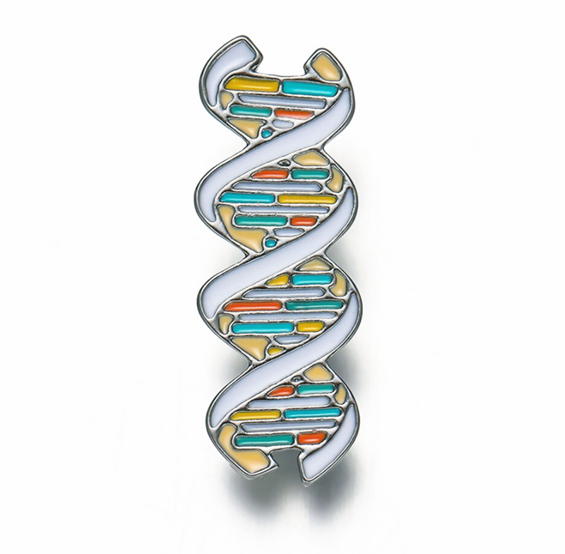 Double Helix / DNA Hard Enamel Delicate Charms