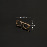 Retro Eyeglasses Pin