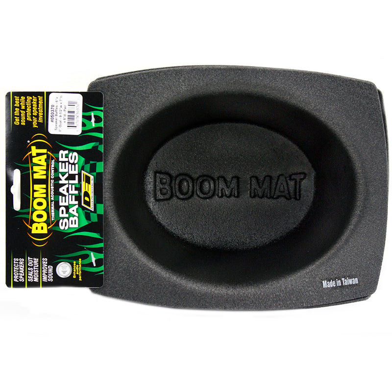 "6x8"" Speaker Baffles Oval 2 Pack Boom Mat Design Engineering DEI 050370"