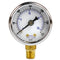 "1/8"" NPT 0-300 PSI Air Pressure Gauge Lower Side Mount With 1.5"" Face"