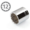 "12 Point 3/8"" Drive x 7/8"" Shallow Socket Premium Vanadium Steel TEKTON 14162"
