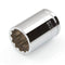 "12 Point 3/8"" Drive x 15mm Shallow Socket Premium Vanadium Steel TEKTON 14171"