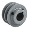 "2.75"" Cast Iron 1"" Shaft Pulley Sheave Single 2 Groove V Style A Belt 4L New"