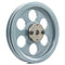 "8.25"" 2 Piece Cast iron Dual Groove Pulley A Belt (4L) Style with 3/4"" Bore H Bushing 2AK84H"
