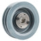 "6"" Cast Iron Dual Groove Pulley B Belt (5L) Style with 7/8"" Bore H Bushing"
