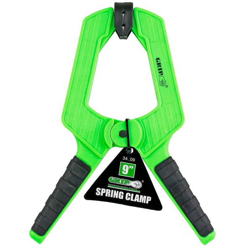 "Heavy Duty 9"" Spring Clamp Thermoplastic Anti-Slip Grip Tools 34009"