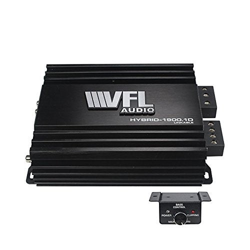 VFL Audio Hybrid Amplifier Monoblock Linkable 1900 Watts Max Amp Hybrid-1900.1D