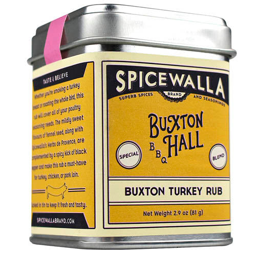 Spicewalla Buxton Turkey Rub 2.9 oz Mildly Sweet