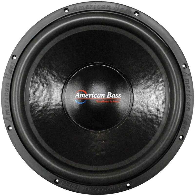 "American Bass XD-1522 15"" Subwoofer Dual 2 Ohm 2000 Watts Max Car Audio Single"