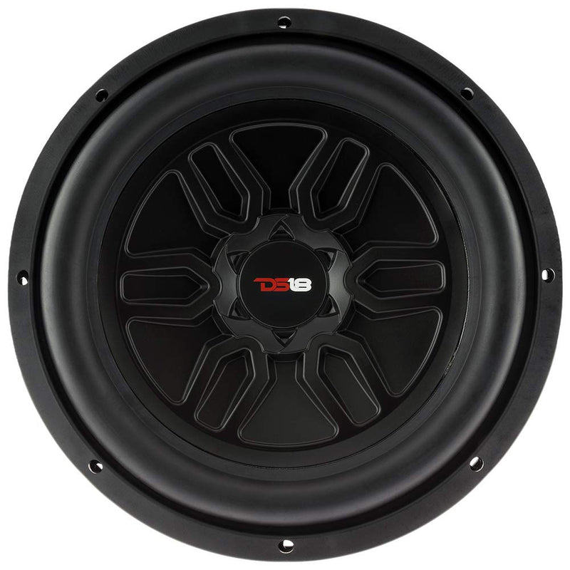 "DS18 SLC-MD12.4D 12"" Inch Subwoofer 1000 Watts Max Power Dual 4 Ohm Sub Single"