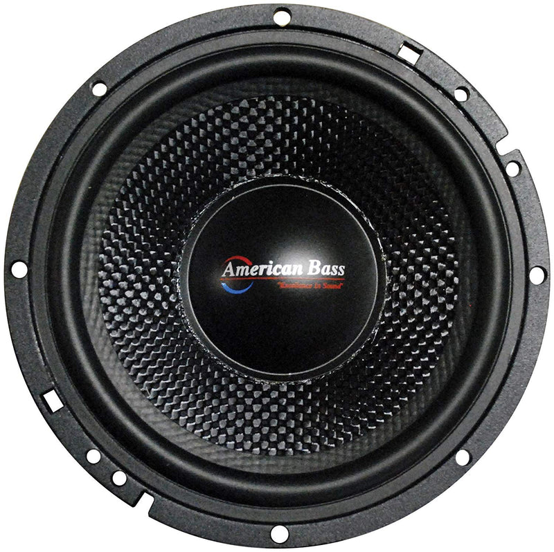 "American Bass VFL-65MB 6.5"" Midbass Car Speaker 4 Ohm 350W Max Open Back Single"