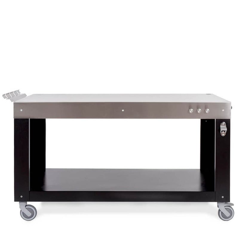 "Alfa Ovens 63"" Inch Wide Oven Workstation Table Stainless Steel ACTAVO-160"