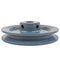 "4.5"" Cast Iron Single Groove Pulley A Belt (4L) Style 5/8"" Shaft"