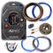 Aunex 8 Gauge Amplifier Wiring Kit 100% Copper OFC Complete Install Set AP-8K