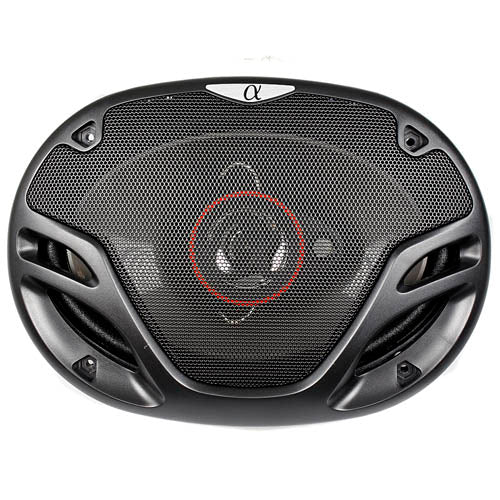 "Alphasonik 6x9"" 3 Way Full Range Speakers 500 Watts Power Max 4 Ohm AS69 Pair"