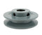 "3.5"" Cast Iron Single Groove Pulley B Belt (5L) Style 7/8"" Shaft"